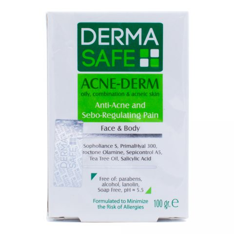 Anti Acne and Sebo Regulating Pain Face & Body-Derma Safe