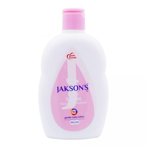 Baby Lotion Vitamin E & Butter-Jaksons