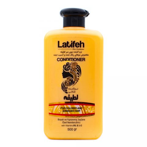 For Colored & Damaged Hair-Latifeh