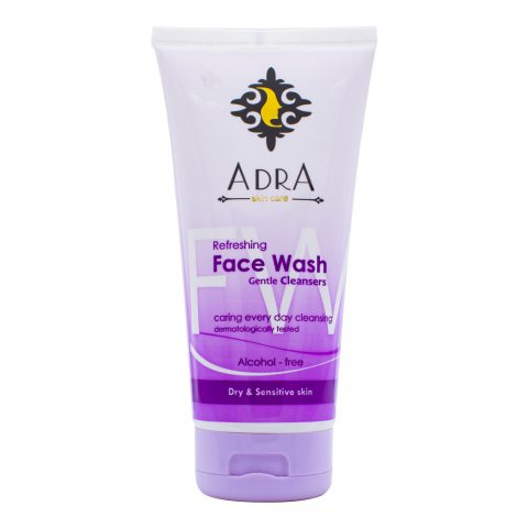 Refreshing Face Wash Gentle Cleansers Dry & Sensitive Skin- Adra