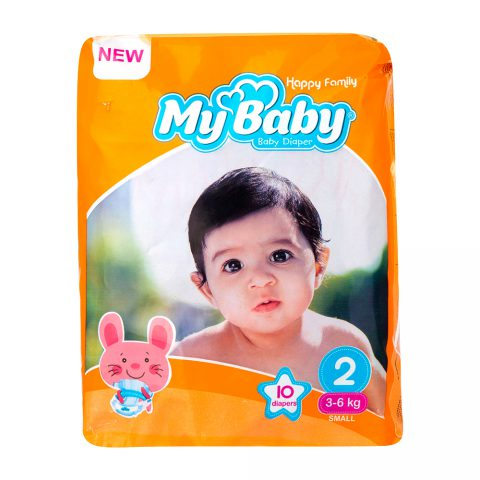 Baby Diaper Happy Family Size 2-10 Small-My Baby
