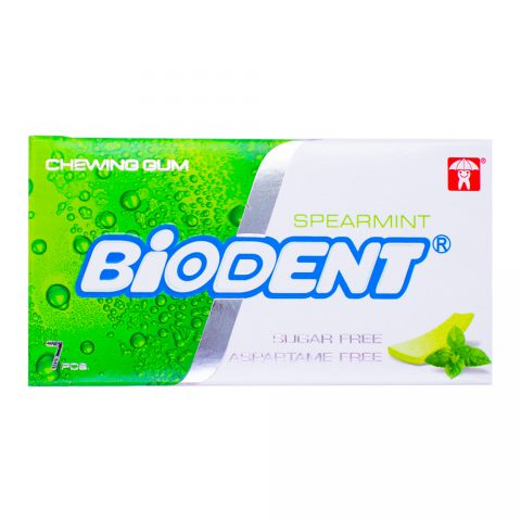 Chewing Gum Spearmint-Biodent