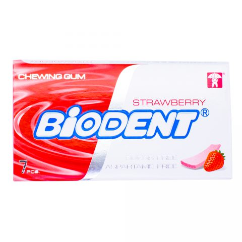 Chewing Gum Strawberry-Biodent