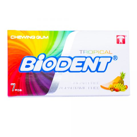 Chewing Gum Tropical-Biodent