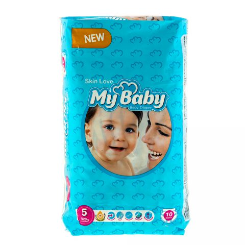 Chamomile Gentle with Skin Diaper Size 5 Pack of 10-My Baby