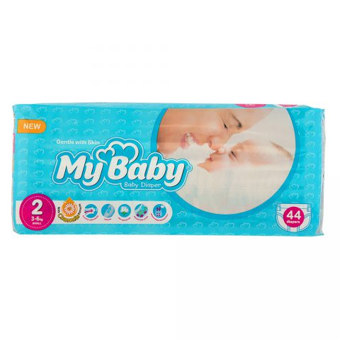 Echo Gentle with Skin Diaper Size 2 Pack of 44-My Baby