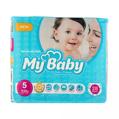Echo Gentle with Skin Diaper Size 5 Pack of 28-My Baby