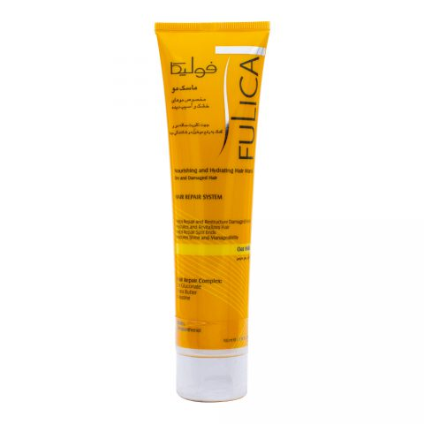 Nourishing and Hydrating Hair Mask for Dry and Damaged Hair-Fulica