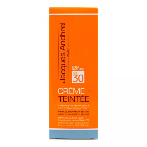 Tinted Cream SPF 30-Jacques Andhrel