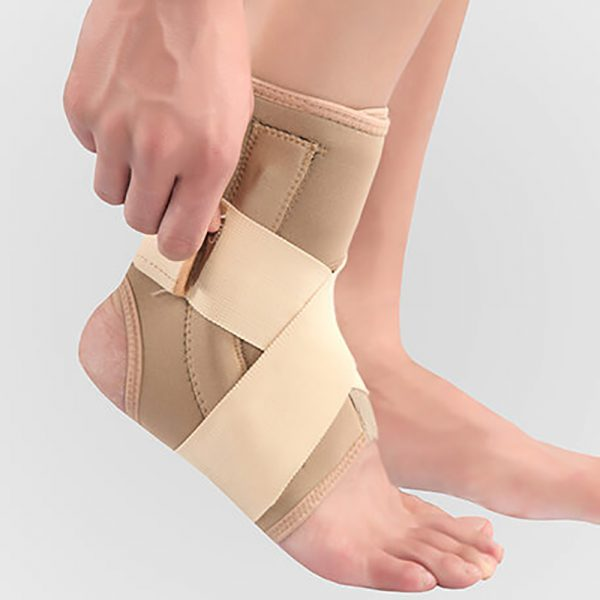 088 Neoprene Ankle Support with Spring-Paksaman