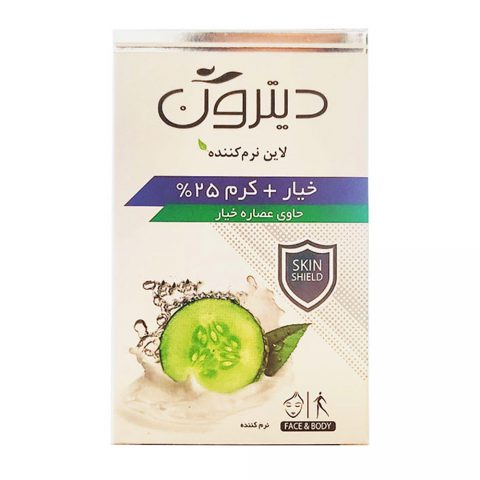 25_ Cream Soap With Cucumber Extract-Ditron
