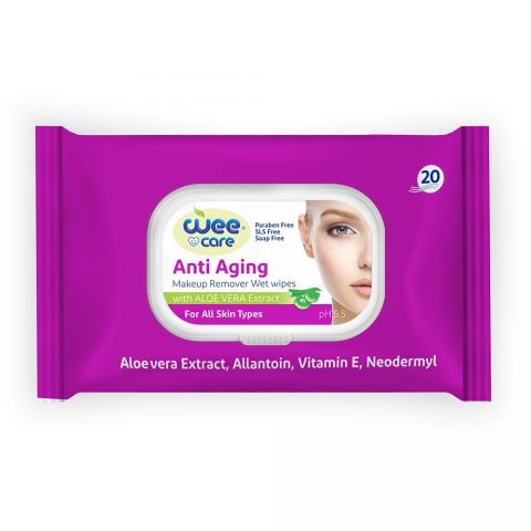Anti Agnin Makeup Remover Wet Wipes-Wee Care