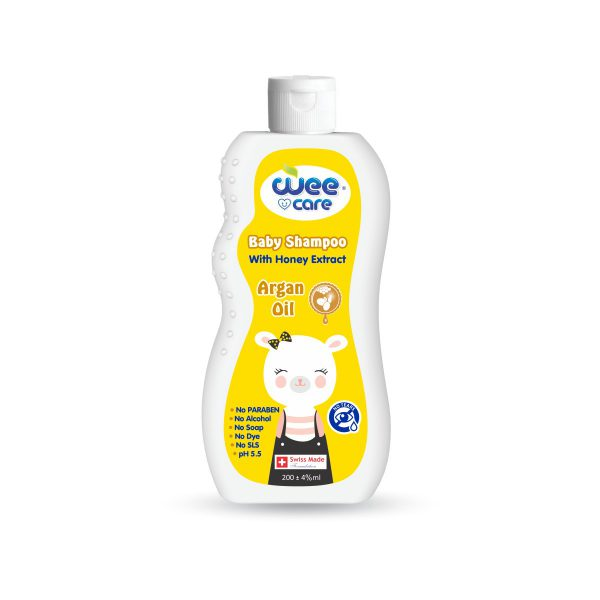 Baby Shampoo Argan Oil With Honey Extract-Wee Carel