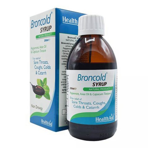 Broncold Syrup-HealthAid