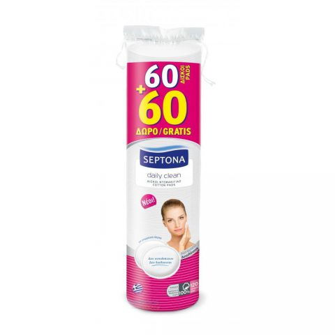 Daily Clean Cotton Pads-Septona