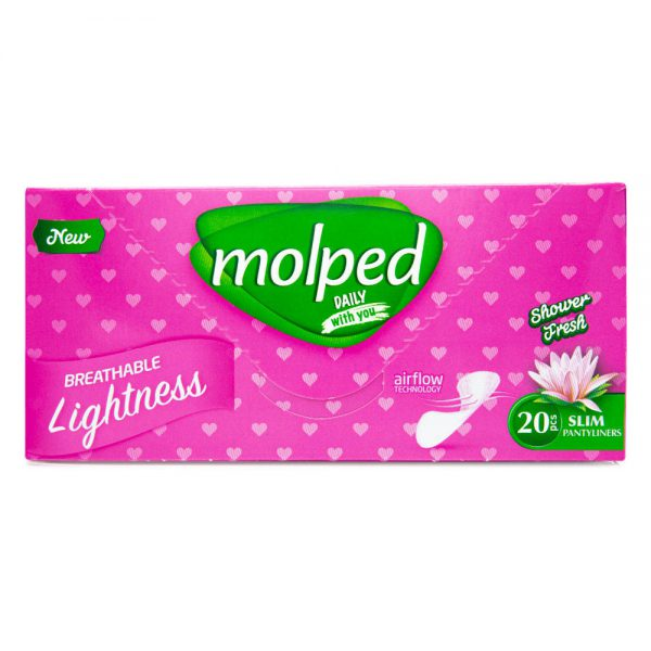 Daily Pad Deo Fresh 20pcs -Molped