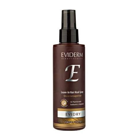 E Leave In Hair Mask Spry For Dry & Damaged Hair-Eviderm