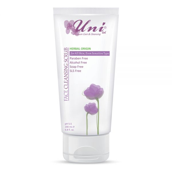 Face Cleansing Scrub For All Skin Even Sensitive Type-Uni