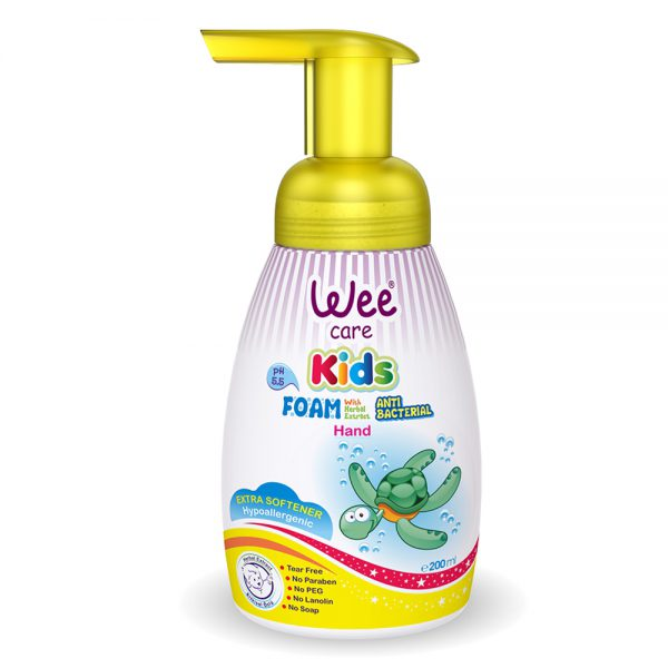 Hand Foam With Herbal Extract Antibacterial-Wee Care