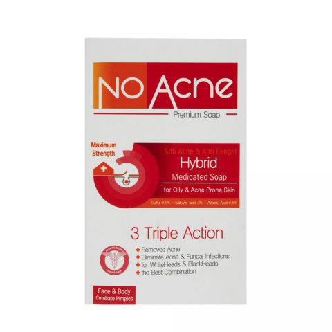 Hybrid Triple Action Medicated Soap-No Acne