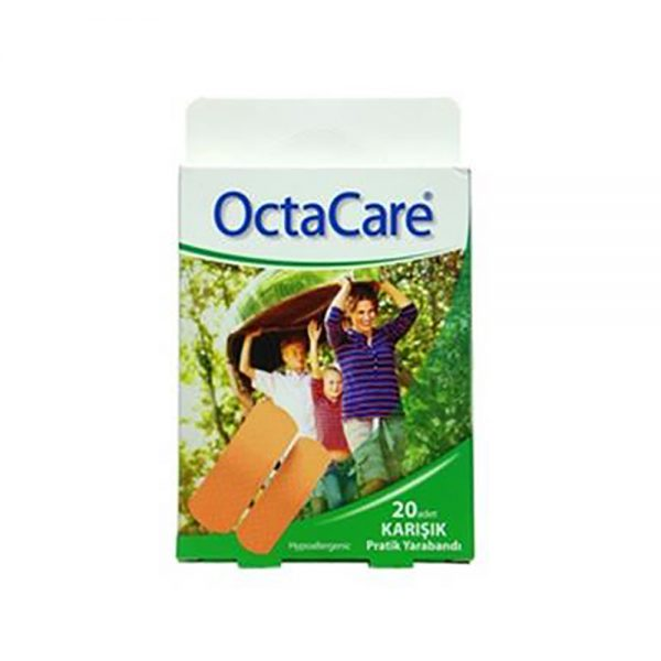 Mixed First Aid Plaster 2-Octa Care