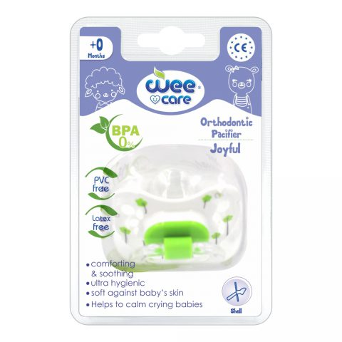 Orthodontic Pacifier Joyful For +0 Months-Wee Care