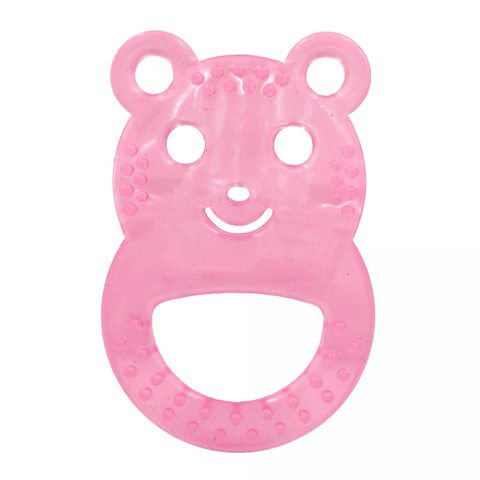 Silicon Sooting Teether Bear For +3 Months-Wee Care