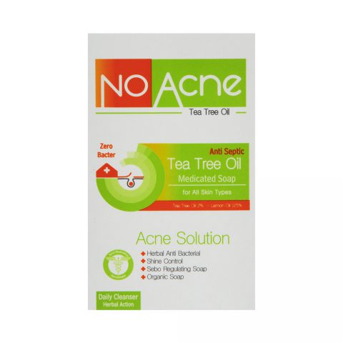 Tee Tree Oil Acne Solutioan Medicated Soap-No Acne