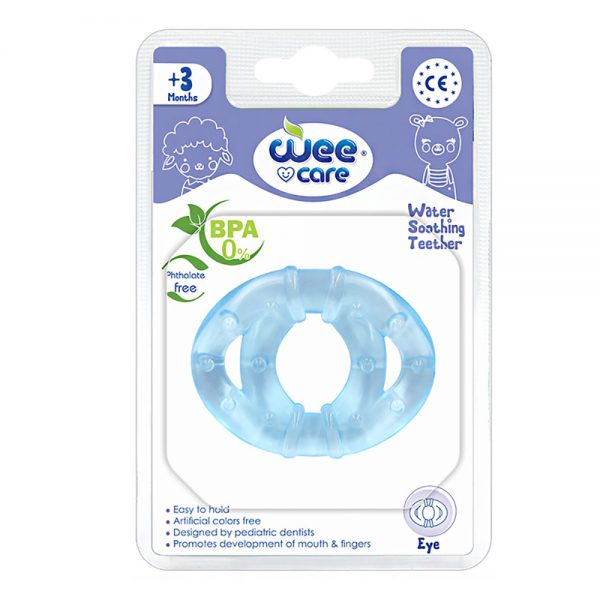 Water Sooting Teether Eye For +3 Months-Wee Care
