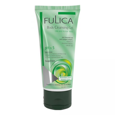 Body Cleansing Gel Oily and Acneic Skins-Fulica