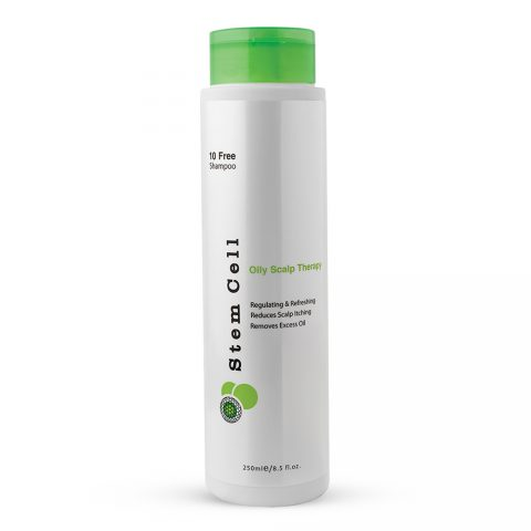 Oily Scalp Therapy 10 Free Shampoo-Stem Cell
