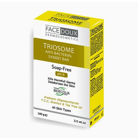Triosome Anti Bacterial Syndet Bar-Facedoux