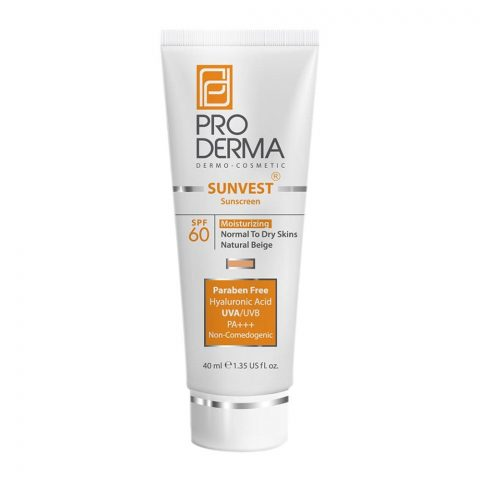 PRODERMA SUNVEST NORMAL TO DRY SKIN