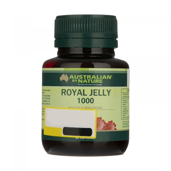 Australian By Nature Royal Jelly 1000 mg 60 Caps